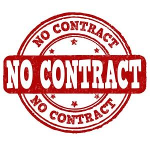 Geen contracten met zorgverzekeraars