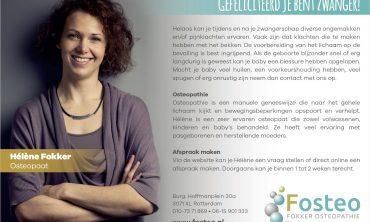 Hélène staat in het blad 'Samen Zwanger'